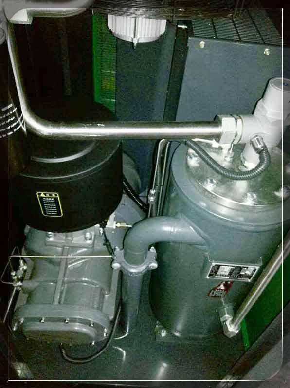 萨震节能空压机控制面板